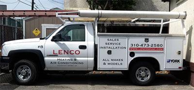 lenco truck